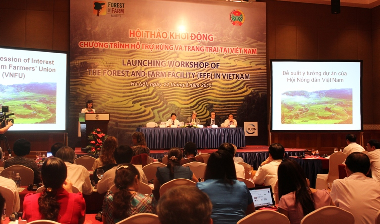 Launching Workshop on the Forest and Farm Facility (FFF) in Vietnam