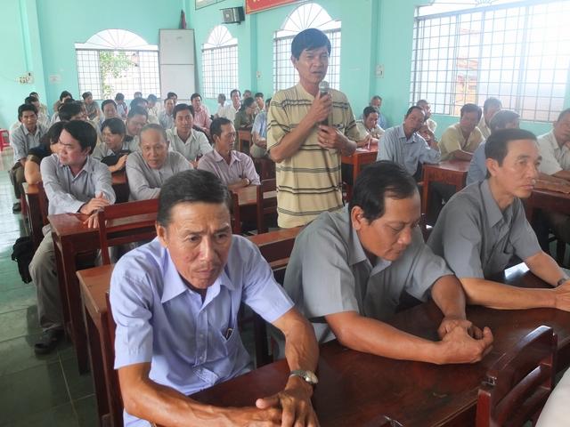 Trà Vinh: Giám sát phản biện nâng cao vai trò, trách nhiệm của cán bộ, hội viên nông dân