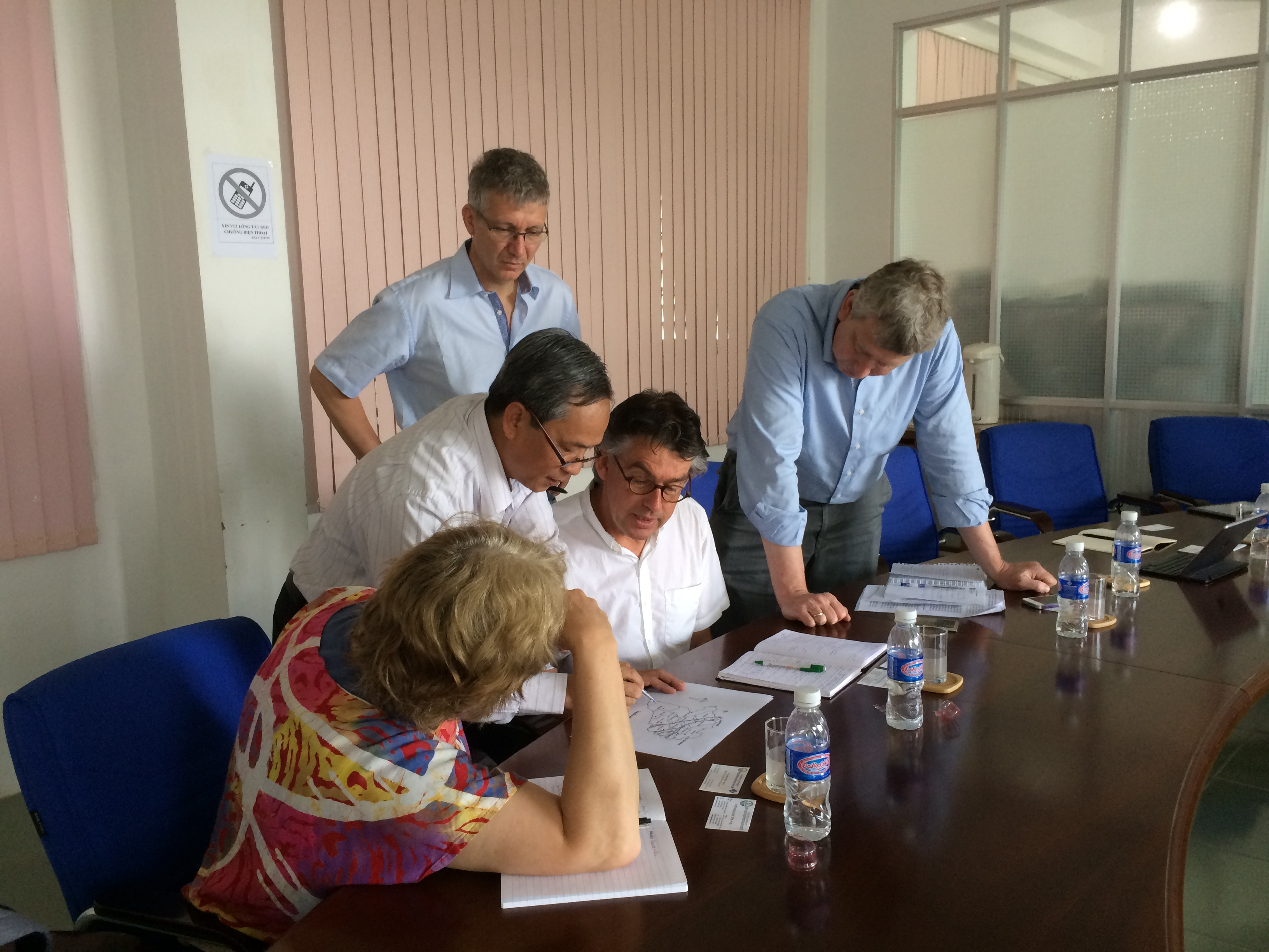 Wageningen Plant Research (WUR) visited some provinces in Mekong Delta