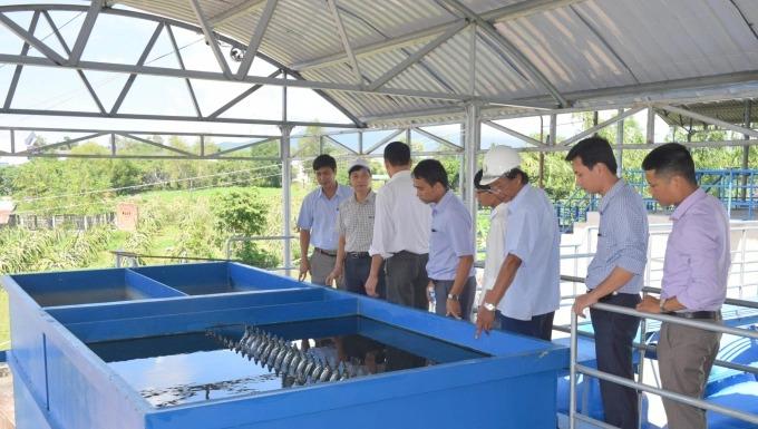 Khuyến khích doanh nghiệp đầu tư cấp nước sạch nông thôn