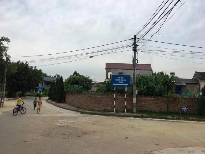 Xây dựng rãnh thoát nước thải ở các xã miền núi tỉnh Vĩnh Phúc