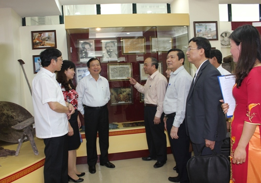 Vietnam Farmers Union: Opening traditional room