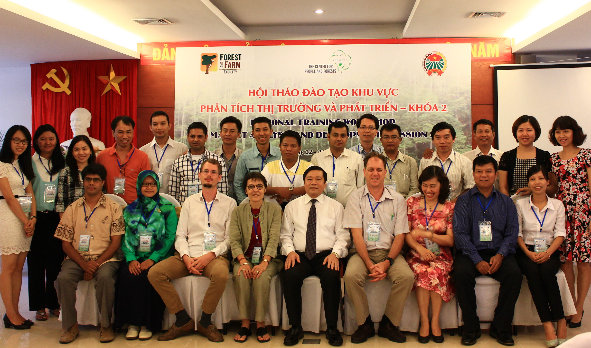 Vietnam Farmers Union hosted the regional training of trainers on the Market Analysis and Development