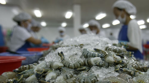 Vietnams shrimp exports are forecast to reach about 3 million this year.