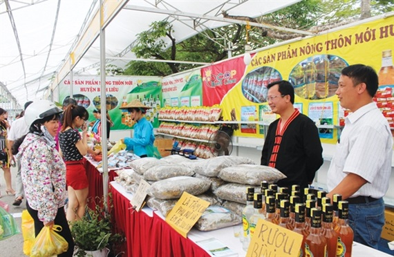 Trade promotion with One Commune One Product Program along with building new-style rural areas