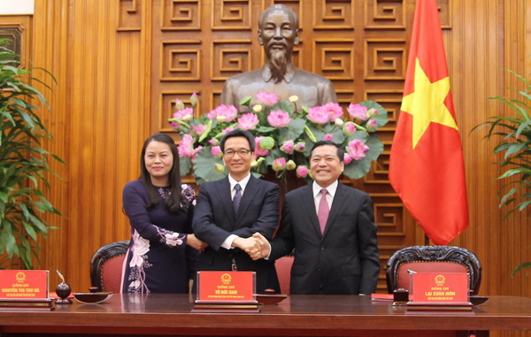 Government, Vietnam Farmers Union and Vietnam Womens Union to sign a joint program on food safety
