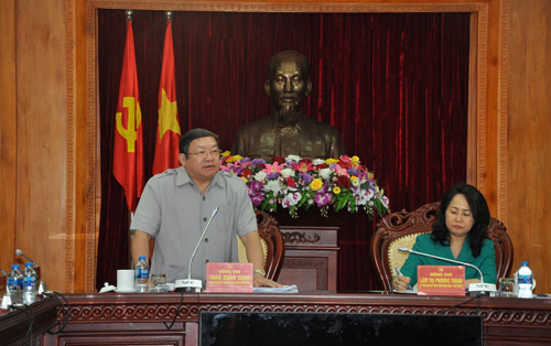 Chairperson of VNFU, Thao Xuan Sung: Lang Son Province needs to focus on green growth