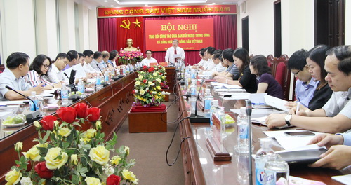The task of strengthening foreign affairs and international cooperation is one of the five key tasks of Vietnam Farmers Union