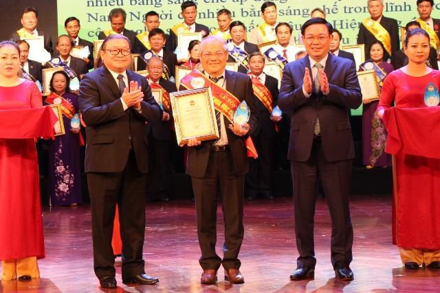 2nd Honoring ceremony of 62 Scientists of farmers