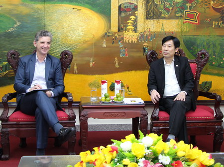 Vietnam Farmers Union (VNFU) and International Labour Organization (ILO): to support farmer members with capacity improvement