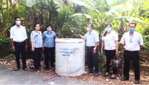 Tra Vinh Farmers Union: Positive effects from the model of collecting discarded packages of plant protection chemicals and domestic waste