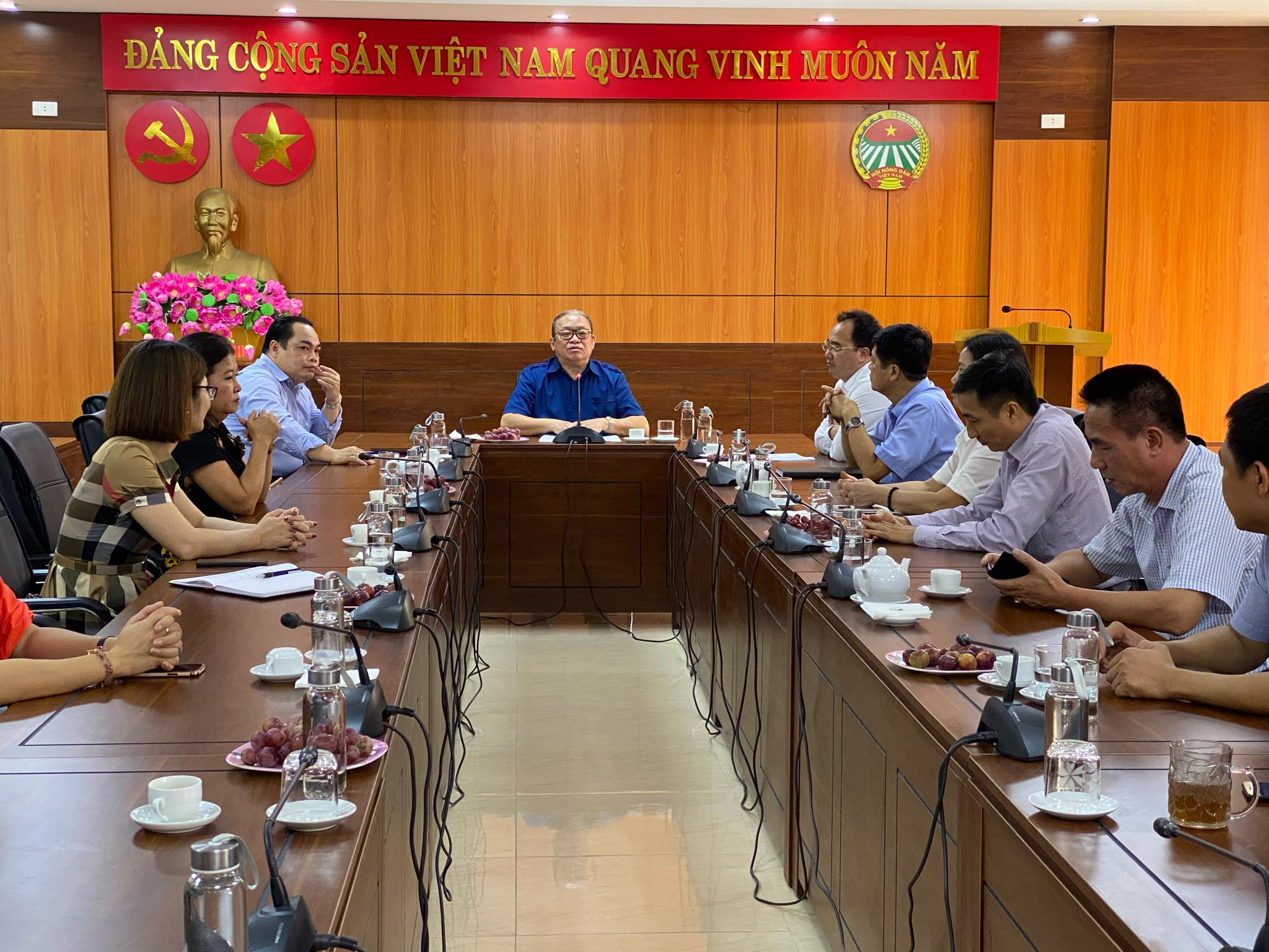 VNFU Chairman Thao Xuan Sung visited and worked with Yen Bai Farmers Union: Focusing on eco-tourism development