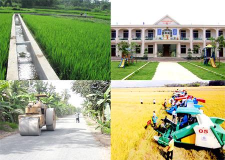 Huyện Trảng Bom đạt chuẩn nông thôn mới