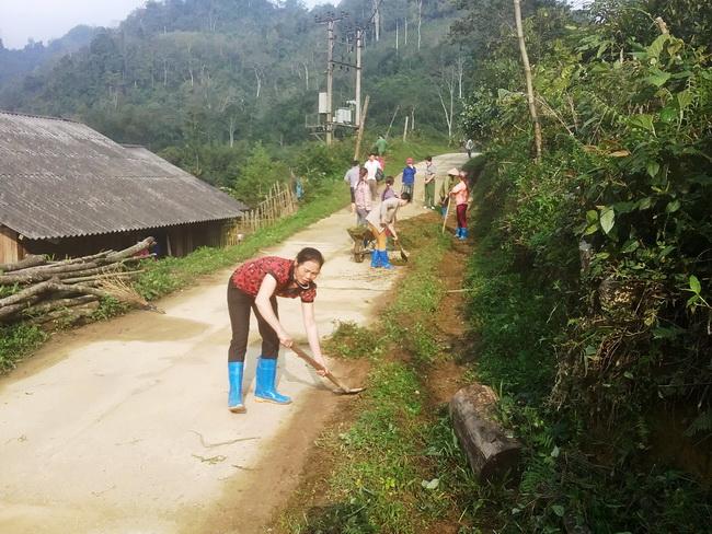 Tân Sơn (Bắc Kạn): Hiệu quả từ mô hình sạch nhà tốt ruộng