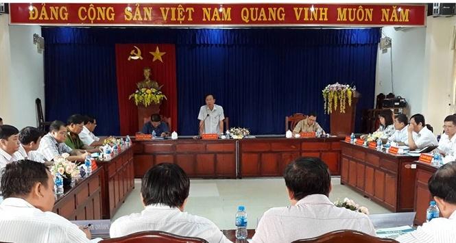 Phú Tân sơ kết chương trình xây dựng NTM 2016 -2020