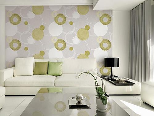 Có nên dùng giấy hay vải dán thay sơn tường?