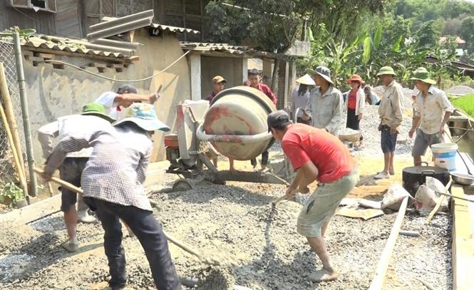 Chiềng Khoang nỗ lực xây dựng nông thôn mới