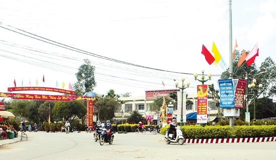 Huyện Nghĩa Hành đạt chuẩn nông thôn mới