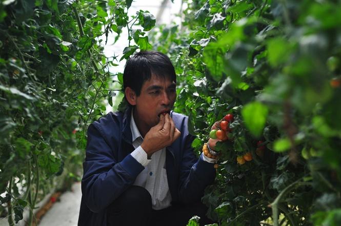 Mày mò tìm giải pháp nông nghiệp thông minh