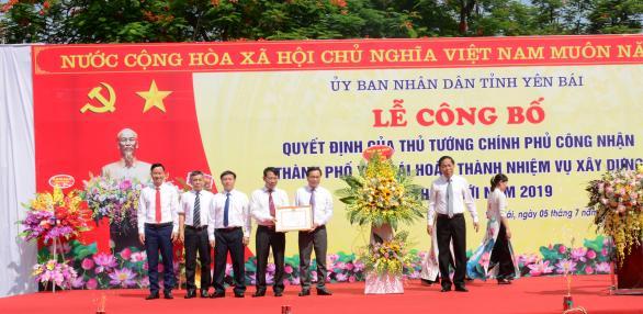 Thành phố Yên Bái hoàn thành xây dựng nông thôn mới