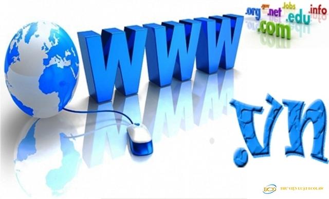 Đề xuất đấu giá quyền sử dụng tên miền Internet