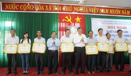 Quảng Ngãi: Sơ kết 5 năm thực hiện Chỉ thị 26 của Thủ tướng Chính phủ