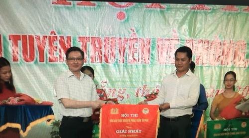 T.Ư Hội NDVN: Tổ chức hội thi Nông dân tuyên truyền về phòng, chống tội phạm tại Bắc Giang, thành phố Đà Nẵng