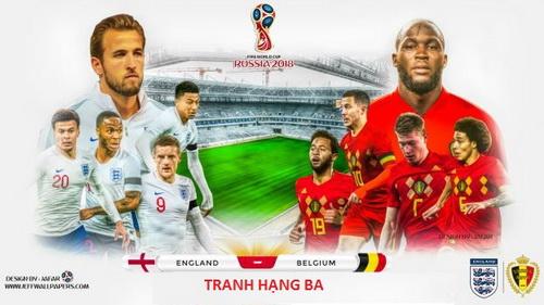 Thông tin đặc biệt trước trận Bỉ vs Anh, 21h00 ngày 14.7