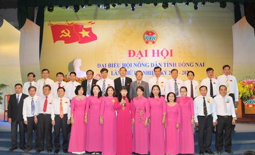 Đồng Nai: Đồng chí Hoàng Thị Bích Hằng tái cử Chủ tịch Hội ND tỉnh