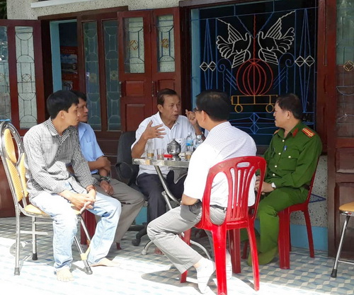 Phường Cam Lợi (Khánh Hòa): Thăm hỏi gia đình ngư dân bị mất tích khi đánh bắt hải sản