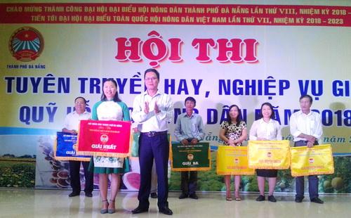 Thành phố Đà Nẵng: Hội ND quận Thanh Khê đạt giải nhất hội thi Quỹ HTND năm 2018