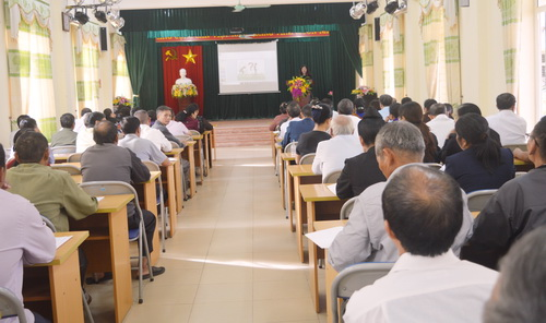 Hội ND Điện Biên: Nâng cao nhận thức về vệ sinh môi trường cho 200 cán bộ, hội viên, nông dân