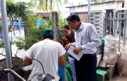 Hội ND phường Cam Thuận (Khánh Hòa): Ra quân phòng chống dịch sốt xuất huyết