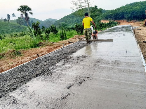 Chi Hội khu Vai (Phú Thọ): Vận động hội viên, nông dân hiến đất, góp công làm đường giao thông nông thôn