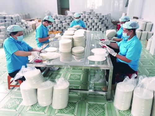 Bánh tráng Phú Hòa Đông lan tỏa thị trường châu Âu