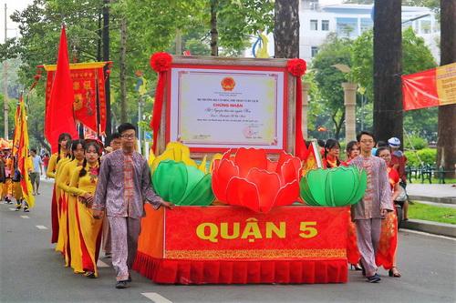 Thêm 1 di sản văn hóa phi vật thể quốc gia được công nhận