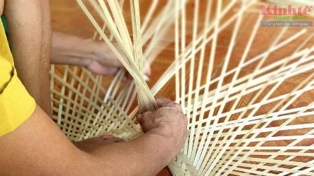 Mê mẩn với những sản phẩm mây tre đan ở Tây Yên
