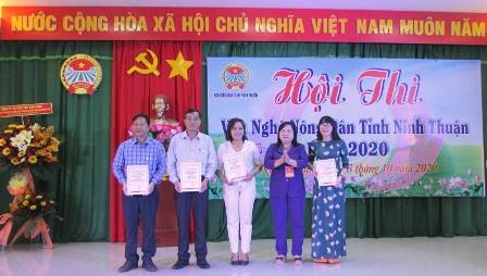 Huyện Ninh Phước (Ninh Thuận): Đạt giải Nhất Hội thi Văn nghệ nông dân năm 2020