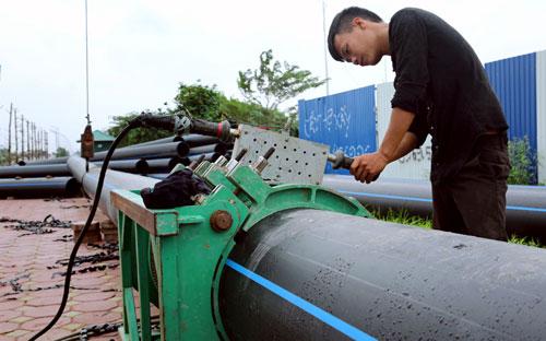 Tháo gỡ khó khăn trong vay vốn thực hiện dự án cấp nước sạch