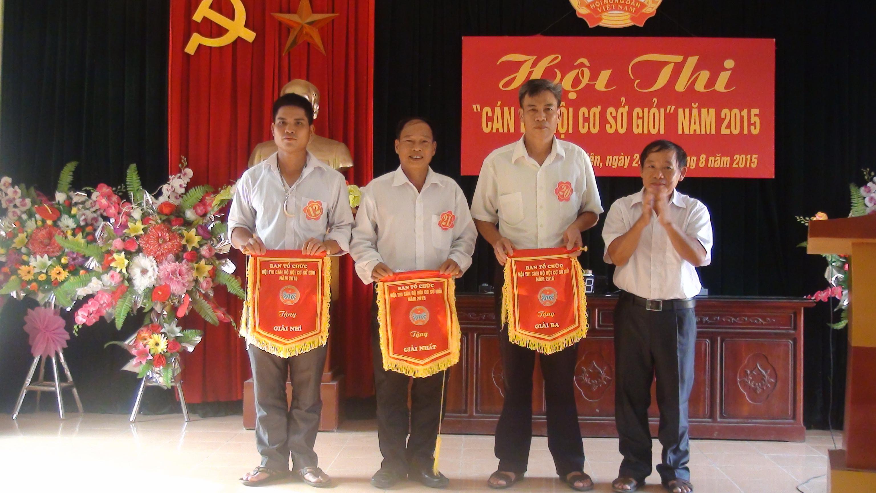 Hội thi  cán bộ Hội nông dân cơ sở giỏi huyện Lục Yên:  Nâng cao nghiệp vụ cho cán bộ Hội