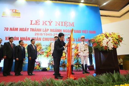 Chủ tịch nước: Việt Nam mở rộng quan hệ đối ngoại chưa từng có