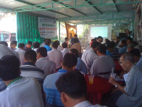 Lê Chánh (An Giang): Bế giảng 02 lớp quản lý dịch hại tổng hợp trên cây lúa ( IPM )