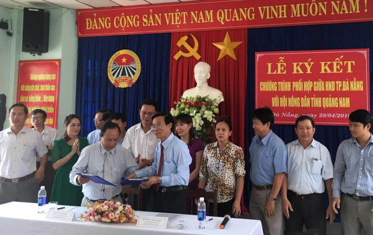HND Đà Nẵng – Quảng Nam: Ký kết chương trình phối hợp giai đoạn 2016-2020