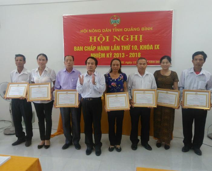 HND Quảng Bình: Nhân rộng mô hình Gia đình hội viên nông dân không vi phạm pháp luật và không mắc các tệ nạn xã hội