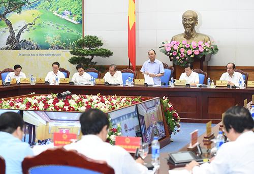 Thủ tướng: Kiên quyết không đánh đổi môi trường vì lợi ích trước mắt