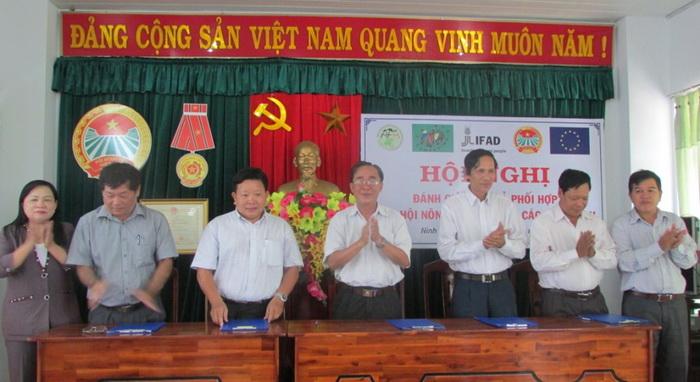 Hội Nông dân Ninh Thuận: Ký kết chương trình phối hợp với các sở, ngành giai đoạn 2016-2020