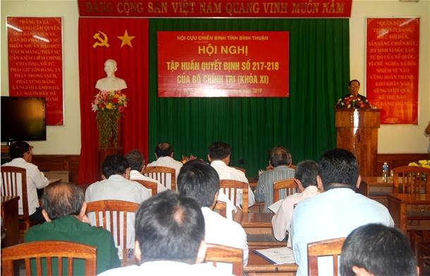 TƯ Hội Nông dân Việt Nam: Tích cực triển khai Quyết định số 217, 218 của Bộ Chính trị