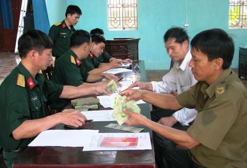 Tăng trợ cấp hàng tháng đối với quân nhân xuất ngũ