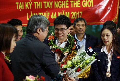 Lần thứ 2 Việt Nam giành huy chương tại kỳ thi tay nghề thế giới