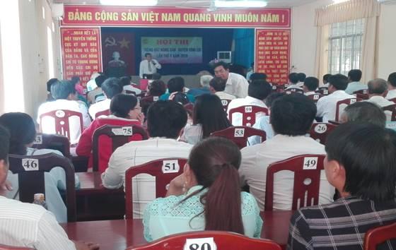 Hội ND huyện Vĩnh Lợi (Bạc Liêu) Tổ chức Hội thi Tiếng hát Nông dân lần thứ V